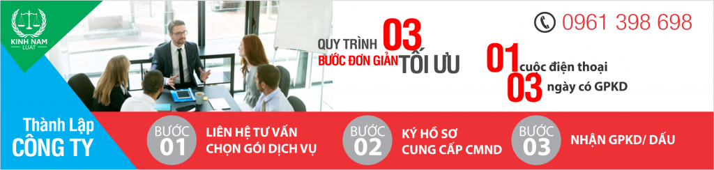 quy trinh 3 buoc thanh lap cong ty
